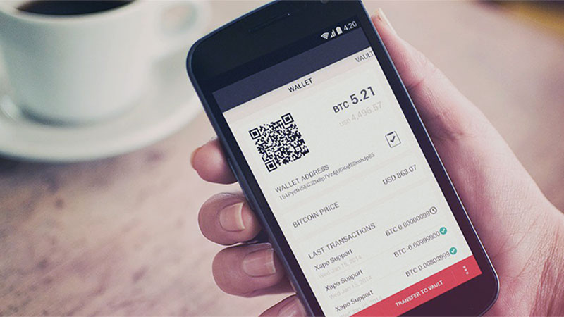 Crypto Mobile Wallet